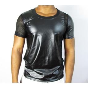 ef740a597 Camiseta Preta Com Brilho Masculina Camisetas Masculino - Camisetas ...