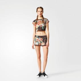 5ff221a0404 Cropped Adidas Originals - Camisetas no Mercado Livre Brasil