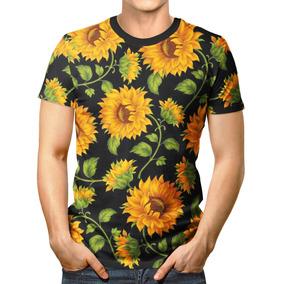 7613b2bb9 Girassol Preto Tamanho G - Camisetas Manga Curta no Mercado Livre Brasil