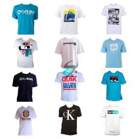 86db2881808a2 Kit 50 Camisa Camiseta Masculina Estampada De Marca Atacado