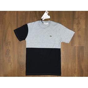 4e1960e02ff32 Camiseta Lacoste Live Malha Peruana Strip Original Tam G