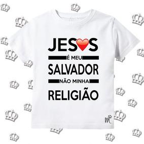 dae028adf Camisetas Jesus - Camisetas Manga Curta para Meninas no Mercado ...
