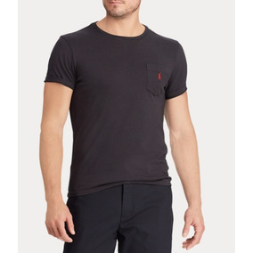 4b6e59fd2c96f Camisa Gola Redonda Masculina Frete Grátis Ralph Lauren