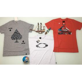 81d12ce6e6c1c Camiseta Masculinas Camisas Blusa Kit 5 Peças.barata