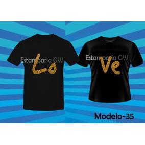 0f5b50725 Camiseta Casal Namorado Tamanho G - Camisetas Manga Curta em ...