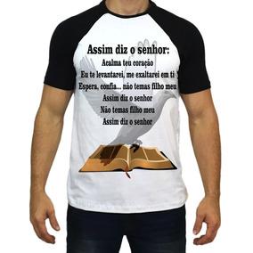 f4dc3dec9 Camisa Salmo 37 - Camisetas e Blusas no Mercado Livre Brasil