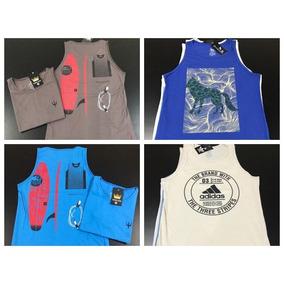 dab5cd5cfaf Kit 5 Camisetas Regatas Masculinas Camisas Blusas Baratas