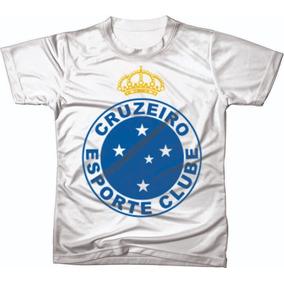 386ce36b06e17 Camisa Cruzeiro Manga Comprida no Mercado Livre Brasil