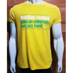 4fbdd2eee Tam P - T-shirt Osklen - Brazilian Football - Rough