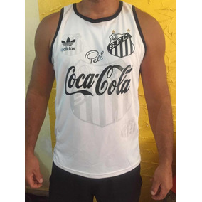 5a94a5c56fc5a Camiseta Regata Do Santos Rei Pelé Top 2019