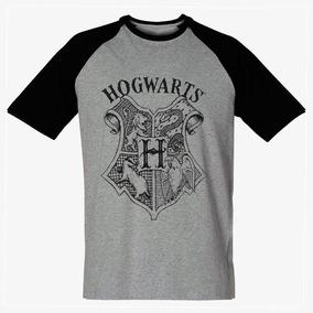 abc5c7f29 Camiseta Harry Potter Masculina Hogwarts Blusa Camisa