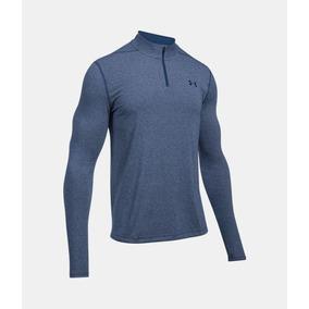 232932ee718 Camiseta Under Armour Azul Tam - Camisetas Manga Curta no Mercado ...