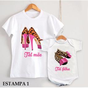 37e90d2394 Chiqueirinho Beb Feminino - Camisetas e Blusas Body para Feminino no  Mercado Livre Brasil