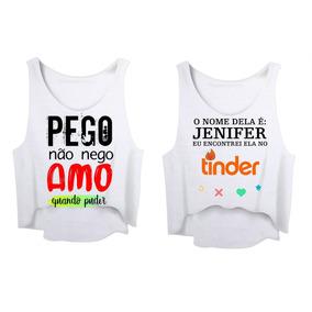 f31be61c8 Regata Carnaval - Camisetas Regatas para Feminino no Mercado Livre ...