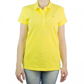 1697a48490090 Camisa Polo Feminina Tommy Hilfiger Slim Fit Th1m87657752