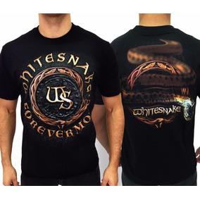 95b401217 Whitesnake Camiseta - Camisetas Manga Curta para Masculino no ...