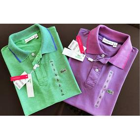 73dd3467a3a Camiseta Lacoste Modelo Novo - Camisetas Manga Curta para Masculino ...