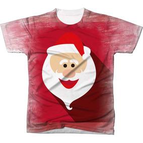 0b5d3e46e86e7 Camisa Camiseta Blusa Papai Noel Natal Arvore Ref 001