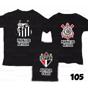 790b86b061640 Camiseta Personalizada Do Santos Fc - Camisetas e Blusas para ...