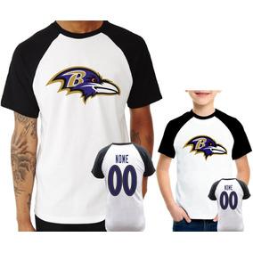 09b4dd0f0 Camisa Nfl Baltimore Ravens - Camisetas e Blusas no Mercado Livre Brasil