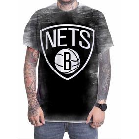 68bc94b1a Chinelo Brooklyn Nets - Camisetas Manga Curta para Masculino em São ...
