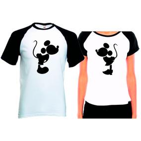 3bd37017fcaf8 Camiseta Minnie E Mickey Tamanho G - Camisetas Manga Curta no Mercado Livre  Brasil