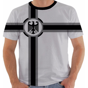 3d78816737c7f Camiseta Bandeira Alemanha - Camisetas Manga Curta para Masculino no ...