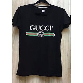 da33f068894 Camiseta Gucci Feminina Nova Colecao - Camisetas e Blusas Manga ...
