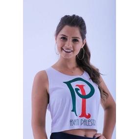a8a1c127b70b7 Cropped Palmeiras Feminina - Calçados