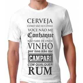e546a951b Camiseta Cachaceiro Tamanho Xg - Camisetas Manga Curta no Mercado ...