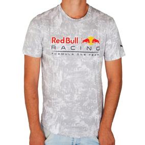 2c3c93500 Camiseta Red Bull Styfer-rbr Allover Tee Eclipse Branca