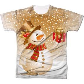 69d04f01e1fb3 Camisa Camiseta Blusa Papai Noel Natal Arvore Boneco Neve