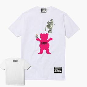 eb4ce17fe Camisa Camiseta Grizzly Gritape Logo Dollar Skate + Adesivo