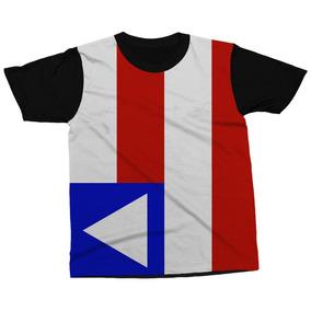 56356a25b Bandeira Do Estado Bahia Poliester - Camisetas e Blusas no Mercado ...