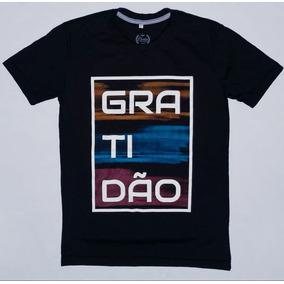 1d4801ab3 Camiseta Evangélica Gospel Camisa Gratidão Versículo Bíblico