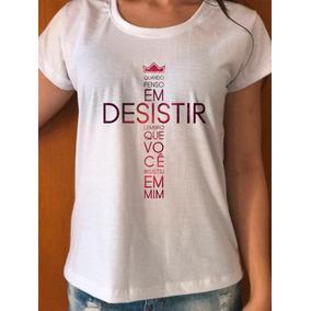 3bd20311f Frases Religiosas - Camisetas e Blusas no Mercado Livre Brasil