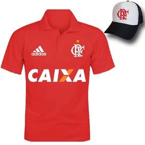 033c5b9d0e4fd Kiti Flamengo Camiseta Masculina Polo Boné Trucher Telinha