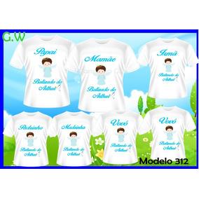 e954e74c8 Camiseta Batizado Personalizada - Camisetas Manga Curta no Mercado ...
