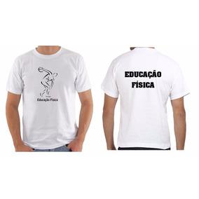 60cb2c36532fd Camisa Professor Educacao Fisica no Mercado Livre Brasil