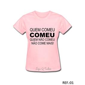 a1ae045ea Kit Despedida De Solteira - Camisetas e Blusas Manga Curta no Mercado Livre  Brasil