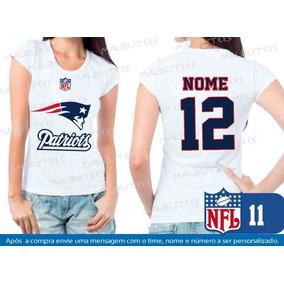 4e3afbb5c4f90 Camiseta Patriots Feminina no Mercado Livre Brasil
