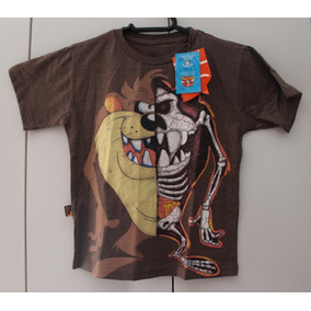 65bf503bf0c78 Camiseta Taz Mania Estilizada - Camisetas Manga Curta no Mercado ...