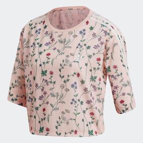 937805abede Camiseta Adidas Feminina Floral - Camisetas e Blusas para Feminino no  Mercado Livre Brasil