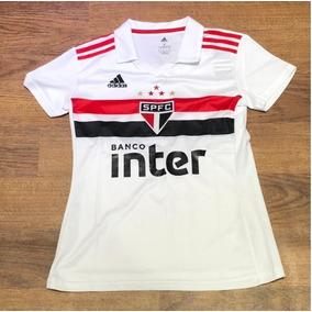 0d0bdcf0dfa3a Camiseta adidas São Paulo I Feminina 2018 - Super Barato