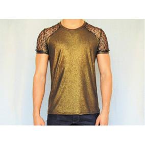 432bab59a Cabide Detalhe Dourado - Camisetas Manga Curta para Masculino em São ...