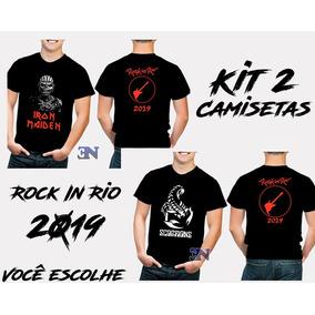 2871768d4 Camisetas Rock Tamanho U - Camisetas Manga Curta para Masculino no ...