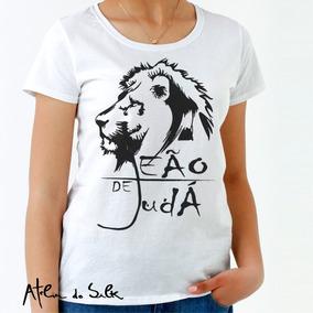 f477898eb Camisetas Evangelica Leão - Camisetas e Blusas no Mercado Livre Brasil