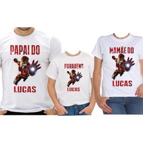 c29d60095 Camiseta Homem Ferro Infantil - Camisetas Manga Curta para Feminino ...