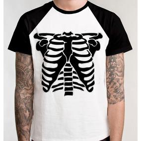 0fde0e507 Camiseta Esqueleto Humano Raio X - Camisetas e Blusas no Mercado ...