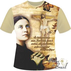42c84e6209c Salve Santa Rainha - Camisetas para Masculino no Mercado Livre Brasil